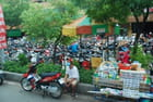 les scooters d'Ho Chi Minh ville