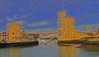 les tours du port