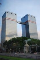 les tours jumelles de Moscou
