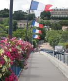 Les trottoirs du pont du Pecq