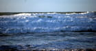 les vagues de l'Atlantique
