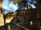 Les vestiges du château de Sommières.