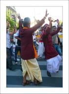 Liesse durant le Festival Ratha Yatra 2012