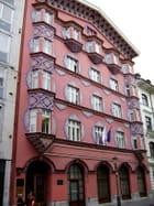 Ljubljana - façade