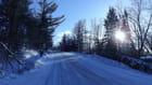 Lumiere en hiver