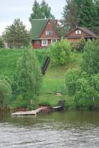 maison au bord du canal