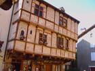 Maison aux pans de bois