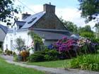 Maison et jardin breton
