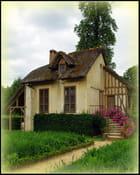 Maison fleurie au Petit TRIANON