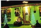 Maison illuminée à Noel