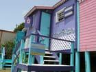 Maisons pleines de couleurs à St Martin