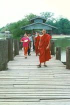 Mandalay  Le pont de U Bein