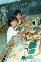 Mandalay : tapisserie
