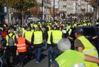 manif des gilets jaunes à Bordeaux
