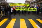 Manifestation des enseignants-chercheurs