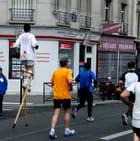 Marathon sur échasses