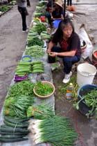Marchande de légumes