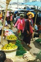 Marché à Mandalay