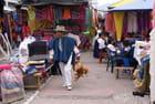 Marché equatorien