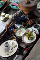 Marché flottant Thailandais
