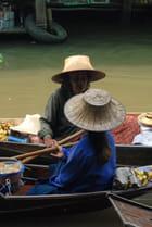 marchés flottant thailandais