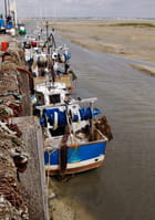 Marée basse au Hourdel