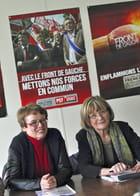 Martine Billard et Marie-George Buffet