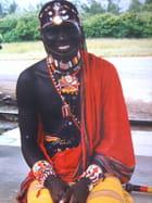 Masaî et ses parures