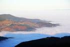 Mer de brouillard sur la plaine d'Alsace