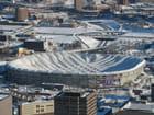 Minneapolis - Le toit du stade s'effronde