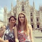Moi et Manon à Milan