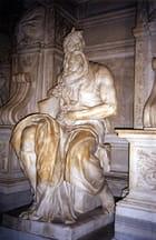 Moïse sculpté par Michelangelo Buonaroti (1515)