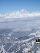 Mont Blanc depuis Meribel