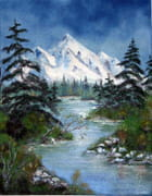 Montagne et eau