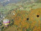 Montgolfière Alpes