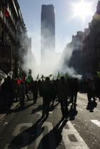 Montparnasse un jour de grève