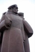 monument des tirailleurs Lettons