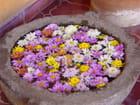 Mosaïque de fleurs