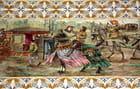 Mosaiques à la gare de Porto