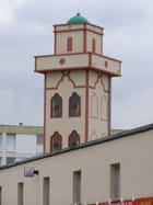 Mosquée moderne dans le Nord
