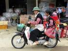 Moto familiale Hmong