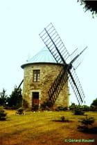 Moulin du Domaine de Lansuen Erquy aout 1966