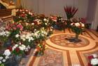 Multitude de roses pour la petite Thérèse