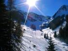 Neige au soleil