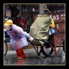 Nettoyage de rues..