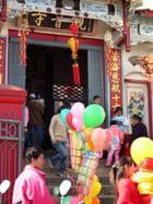 Nouvel an chinois à Kyaing Tong