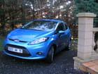 Nouvelle Ford Fiesta Bleu Lagon
