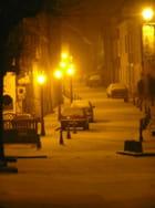 Nuit d'hiver à Charolles