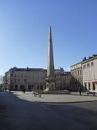 Obélisque fontaine