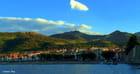 Ombre et soleil du soir sur Collioure